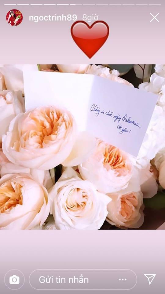 Ngọc Trinh khoe quà Valentine lãng mạn và cách gọi người yêu khiến fan hâm mộ không khỏi bất ngờ-1