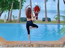 Kim Lý chỉ tặng một bó hoa đơn giản dịp Valentine, Hồ Ngọc Hà vẫn nức nở khen ngợi vì lý do này