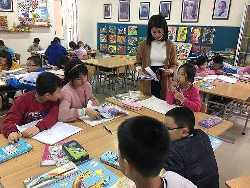 Tuyển sinh lớp 6 song bằng: Học sinh thi Toán và Tiếng Anh-1