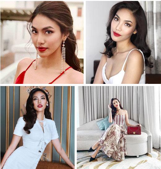 Có thể gọi Lan Khuê là nữ hoàng son môi đỏ vì nhan sắc của cô là sự tổng hòa tất thảy những yếu tố này-4