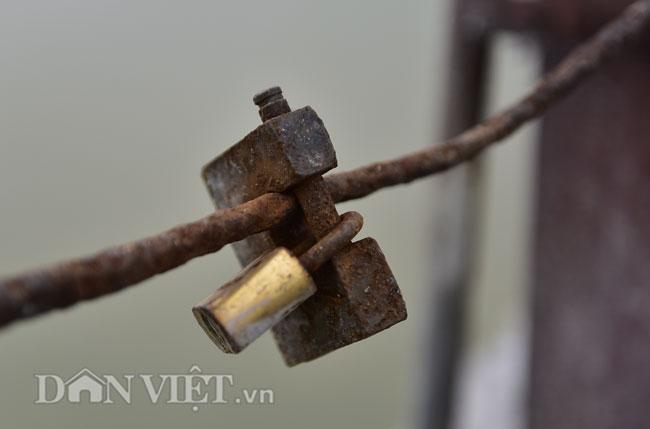 Ảnh: Những ổ khóa tình yêu trên cầu Long Biên-3