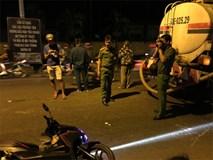 Người phụ nữ bị xe bồn chở nước tưới công viên cán tử vong trong đêm ở Sài Gòn