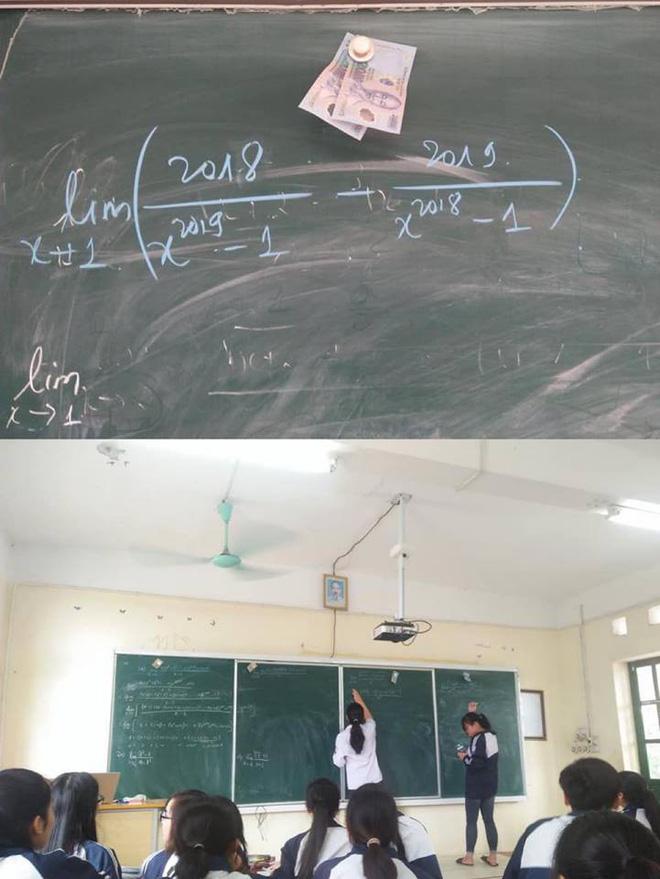 Thầy giáo ra bài toán quốc dân, học sinh nào cũng muốn giải nhưng đời không như là mơ-1