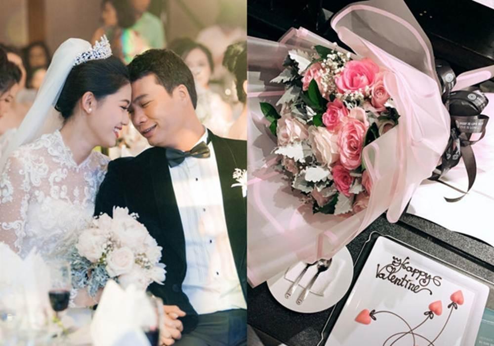 Trường Giang, Nhã Phương và Valentine của những sao Việt mới kết hôn-10