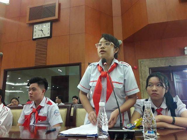 """Học sinh TPHCM xin"""" giảm áp lực cho thầy cô-3"""