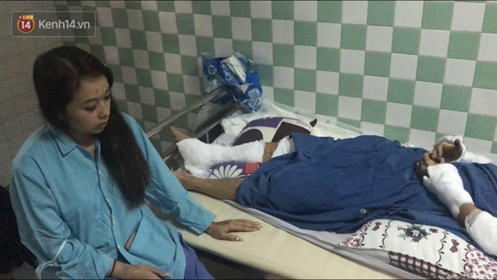 Người cha đau xót kể lại vụ việc con trai bị tạt axit, cắt gân chân khi chở bạn gái đi chơi Tết-4