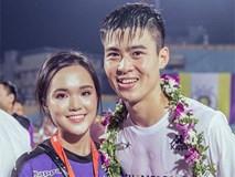 Duy Mạnh sang Trung Quốc thi đấu, Quỳnh Anh ở nhà lo nội trợ đúng chuẩn