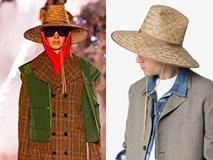 Cận cảnh chiếc nón cói Gucci trị giá 9 triệu đồng trông không khác gì nón bán 'rẻ bèo' đầy ở khu du lịch Việt Nam