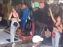 Cô gái mặc chiếc quần cắt trước xẻ sau đúng 'vùng nhạy cảm' khiến dân tình choáng váng