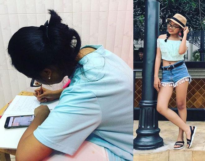 Phong cách ra phố sành điệu của Phương Mỹ Chi với short ngắn, quần rách te tua-3