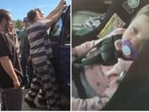 Thấy đứa trẻ thoi thóp thở trong chiếc xe hơi, 5 tù nhân vừa được thả đã