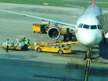 Clip nhân viên sân bay Đà Nẵng ném hành lý hành khách
