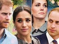 Hành động 'chia cắt' công khai đầu tiên của hai cặp đôi Hoàng gia Anh sau nghi án mâu thuẫn, rạn nứt