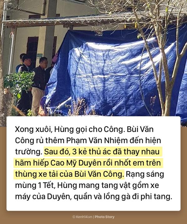 Hành trình gây án man rợ qua lời khai của 5 đối tượng nghiện ngập thay nhau hãm hiếp và sát hại nữ sinh giao gà ở Điện Biên-4