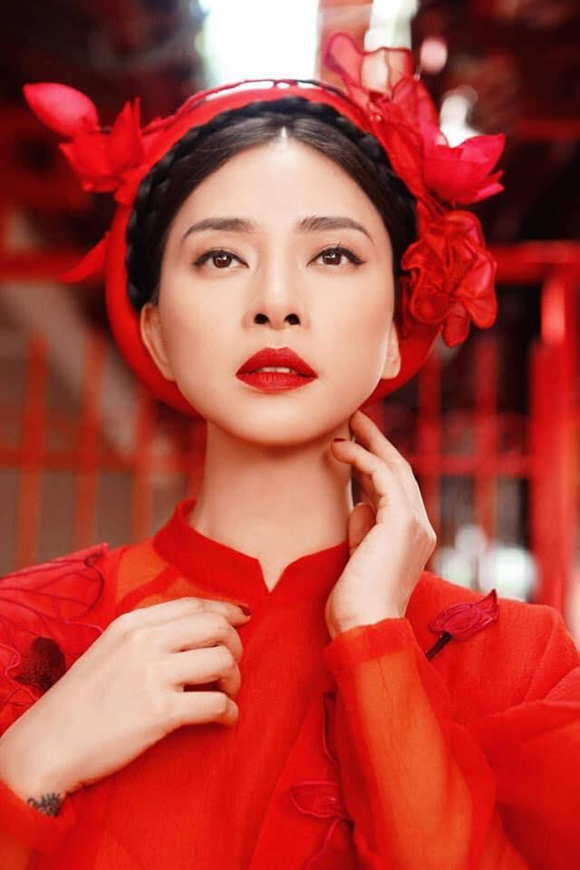 Ngô Thanh Vân rực rỡ sắc đỏ cùng thần thái sắc lạnh vạn người mê-4