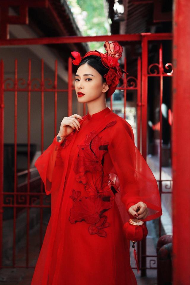 Ngô Thanh Vân rực rỡ sắc đỏ cùng thần thái sắc lạnh vạn người mê-6