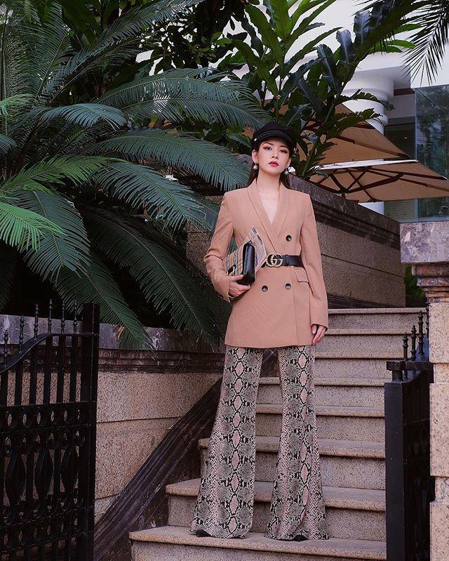 Thấp bé thì sao, cứ diện chuẩn như Hoàng Thùy Linh, Hòa Minzy là tăng cả 10cm chiều cao-17