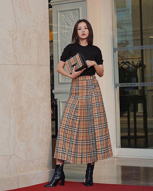 Thấp bé thì sao, cứ diện chuẩn như Hoàng Thùy Linh, Hòa Minzy là tăng cả 10cm chiều cao-19