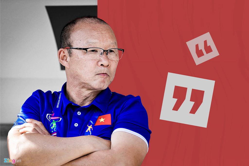 HLV U22 Việt Nam và áp lực từ ông Park Hang Seo-2
