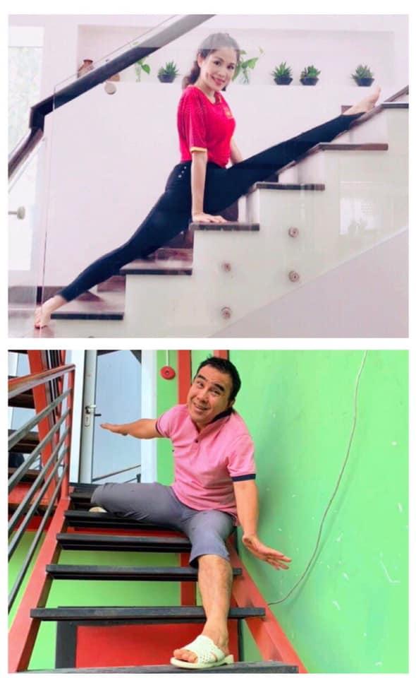 Bắt chước vợ tập yoga và tự nhận gần giống, Quyền Linh nhận cái kết đắng-3