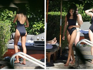 Phải đến khi mặc đồ bơi, ái nữ của cựu Tổng thống Obama mới khiến dân tình đứng hình vì dáng quá chuẩn