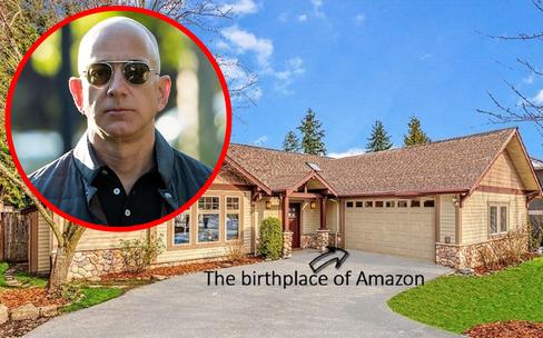 Căn nhà giản dị bỗng lên giá 35 tỷ đồng chỉ vì một thứ: Tỷ phú công nghệ Jeff Bezos từng sống ở đây-1