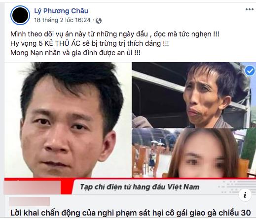 Hoa hậu HHen Niê, MC Phan Anh cùng dàn sao Việt phẫn nộ về vụ án cô gái giao gà bị sát hại-4