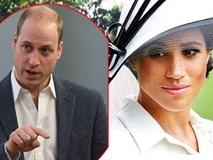 Hoàng tử William nổi cơn thịnh nộ với em dâu Meghan vì điều này, khiến mối quan hệ ngày càng rạn nứt