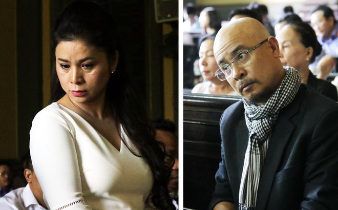 Ông Đặng Lê Nguyên Vũ đến tòa từ sớm, bà Lê Hoàng Diệp Thảo xuất hiện vào phút chót-1