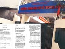 Hiệu trưởng trường cấp 2 ở Hà Nội bị tố thu chi mờ ám