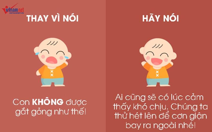 """9 câu nói hữu hiệu thay vì nói không"""" với trẻ-1"""