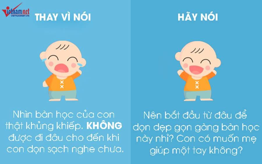 """9 câu nói hữu hiệu thay vì nói không"""" với trẻ-2"""