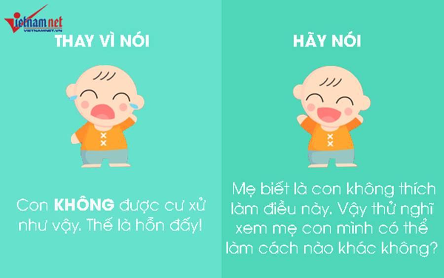 """9 câu nói hữu hiệu thay vì nói không"""" với trẻ-3"""