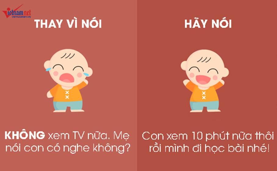 """9 câu nói hữu hiệu thay vì nói không"""" với trẻ-6"""