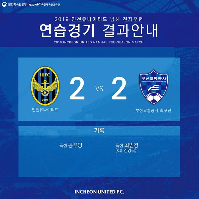 Dân mạng Hàn khen ngợi Công Phượng khi ghi bàn cho Incheon United-1