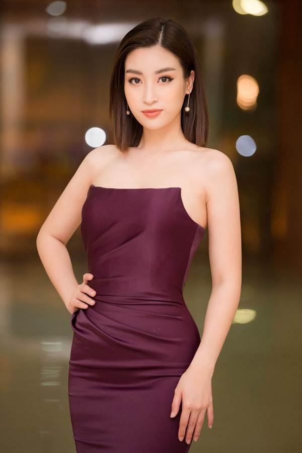 Hoa hậu Mỹ Linh vai trần gợi cảm làm giám khảo Người đẹp Kinh Bắc-3
