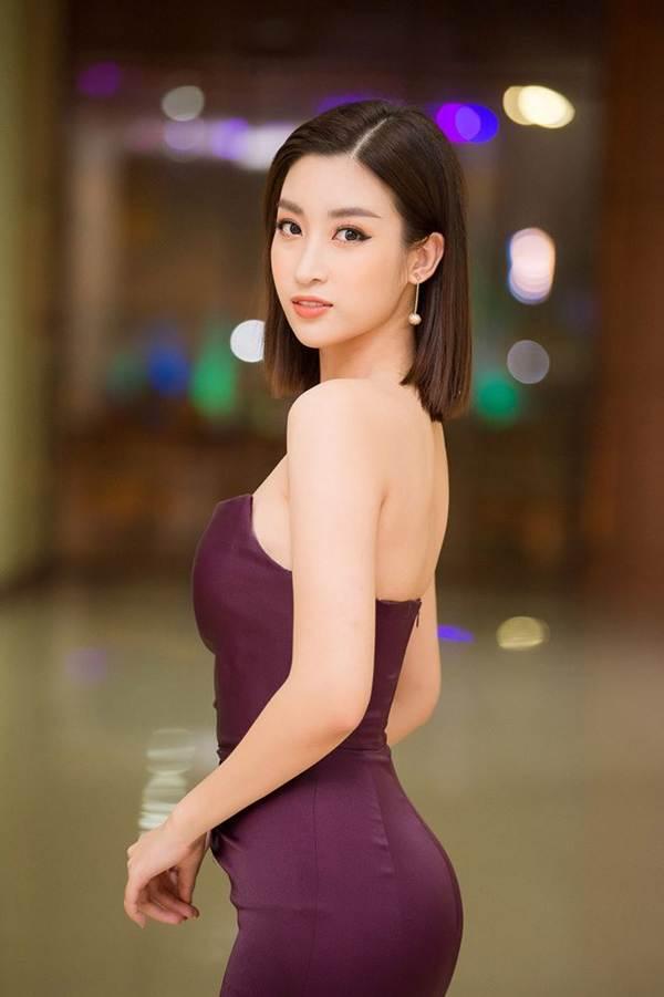 Hoa hậu Mỹ Linh vai trần gợi cảm làm giám khảo Người đẹp Kinh Bắc-4