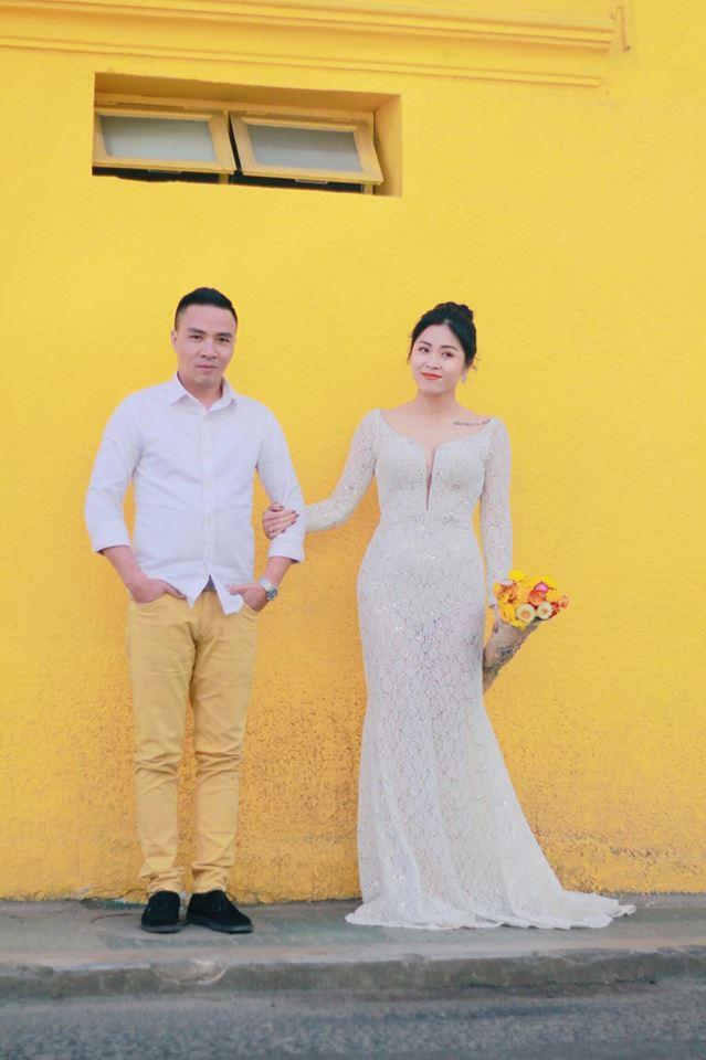 Loạt khoảnh khắc lãng mạn như chụp ảnh cưới của cặp đôi Mạnh Hùng - Hoàng Linh-11