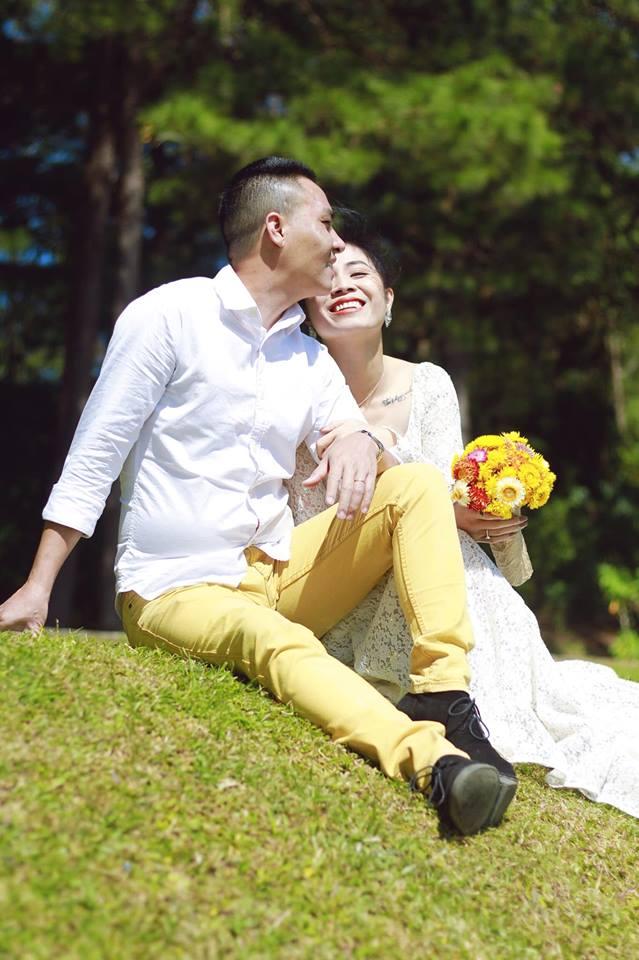 Loạt khoảnh khắc lãng mạn như chụp ảnh cưới của cặp đôi Mạnh Hùng - Hoàng Linh-12