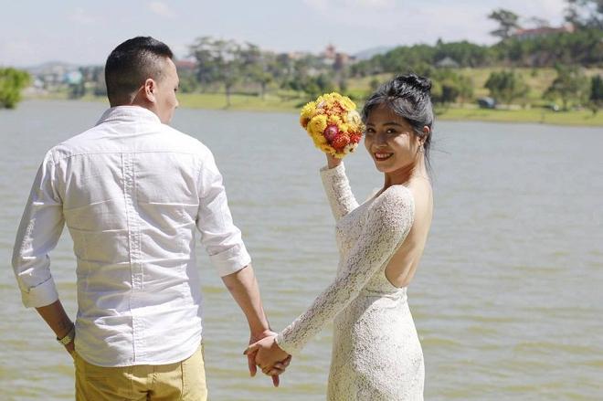Loạt khoảnh khắc lãng mạn như chụp ảnh cưới của cặp đôi Mạnh Hùng - Hoàng Linh-15