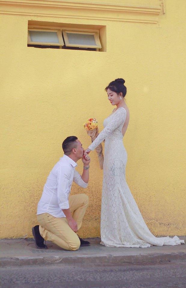 Loạt khoảnh khắc lãng mạn như chụp ảnh cưới của cặp đôi Mạnh Hùng - Hoàng Linh-5