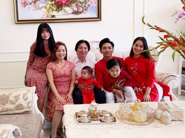 Từng bị bố mẹ Phan Hiển phản đối vì chênh lệch tuổi tác, mối quan hệ giữa Khánh Thi và gia đình chồng hiện ra sao?-1