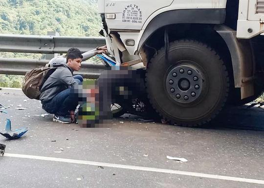 Sau 1 tuần điều trị, phượt thủ dính dưới bánh xe tải tử vong-1