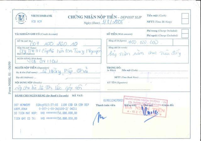 """Mẹ chồng khẳng định Cô góp sức nhưng tiền bạc thì không"""", bà Lê Hoàng Diệp Thảo tung chứng cứ còn giữ từ 2005 để phản bác-2"""
