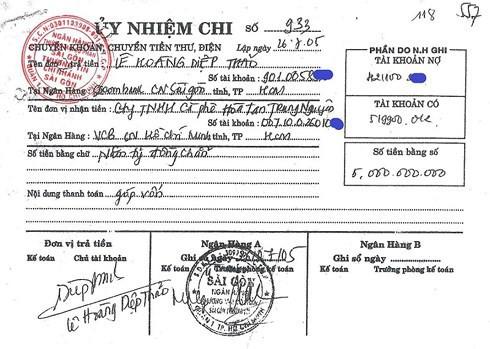 """Mẹ chồng khẳng định Cô góp sức nhưng tiền bạc thì không"""", bà Lê Hoàng Diệp Thảo tung chứng cứ còn giữ từ 2005 để phản bác-3"""