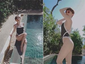 Tóc Tiên khoe vóc dáng nuột nà khi diện bikini quyến rũ