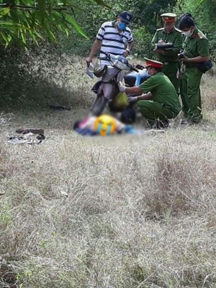 Nóng: Thi thể nữ lõa thể ở bìa rừng huyện Thuận Nam-Ninh Thuận-2