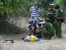 Nóng: Thi thể nữ lõa thể ở bìa rừng huyện Thuận Nam-Ninh Thuận