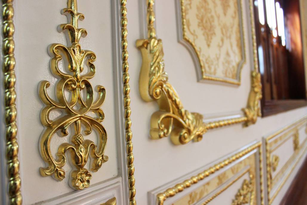 Đại gia Việt đọ độ chịu chơi qua những biệt thự dát vàng lấp lánh-3