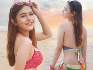 Cô gái Việt đẹp tựa